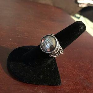 Live, cherish, inspire, dream ring